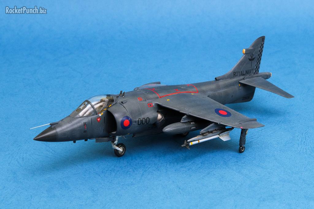 Completed Italeri 1 72 Bae Sea Harrier Frs 1 Rocket